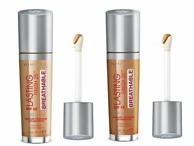 Rimmel London Lasting Finish Breathable Foundation, SPF 20 Choose Your Shade