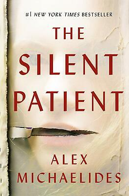The Silent Patient by Alex Michaelides, Hardcover, Free Shipping