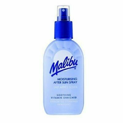 Malibu After Sun Soothing Spray Lotion 100ml Travel Size Vitamin Enriched