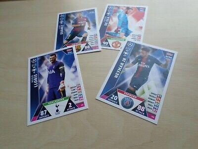 Topps Match Attax -Champions League 2018/2019 cards
