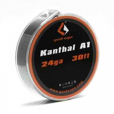 GeekVape Atomizer Kanthal KA1 Wire 1 x 24ga*30ft high quality roll coil per pack