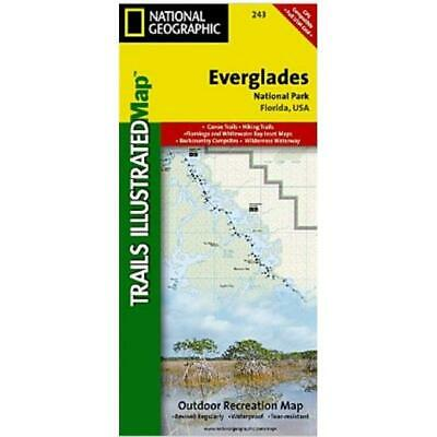 National Geographic TI00000243 Map Of Everglades National Park - Florida