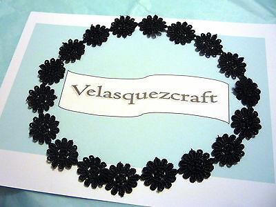 baby headband lace guipure black white cream blush new born to 24 months old