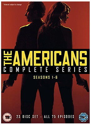 The Americans Complete Series, Seasons 1-6 [DVD] [2018] [New DVD]