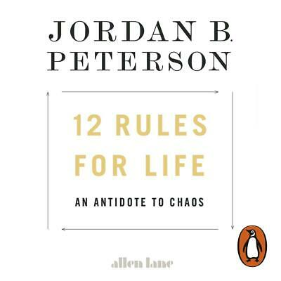 12 Rules for Life: An Antidote to Chaos by Jordan B. Peterson Compact Disc Book