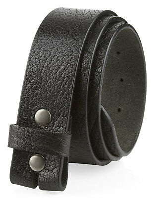 """Casual One Piece Full Grain Vintage Leather Strap Made in USA 1 1/2"""" Wide"""