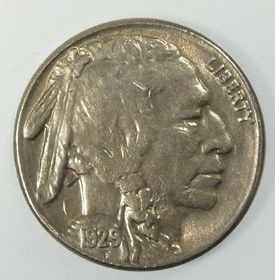 1929-S Buffalo Nickel ALMOST UNCIRCULATED/UNCIRCULATED 5-Cents