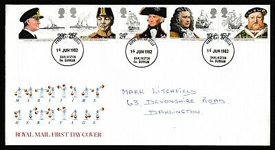 GB First Day Covers 1981 - 1985 Darlington Cancels. Pick your own.