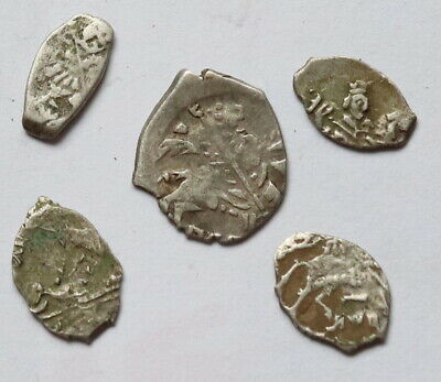 Medieval silver coins Ancient Vikings of Kievan Rus