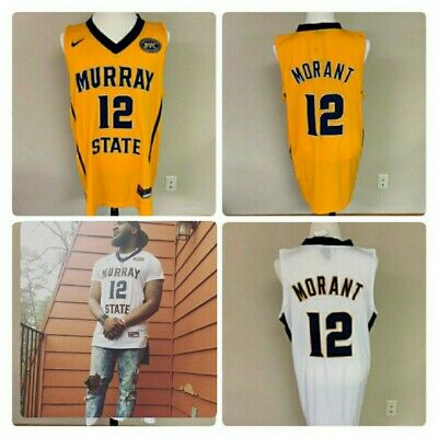 huge selection of af37a 95197 NWT MURRAY STATE Racers Ja Morant #12 MENS jersey S-2XL ...