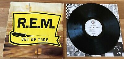 R.E.M. / REM - Out Of Time *LP* LIMITED VINYL 1991 WX 404 7599-26496-1 GERMANY