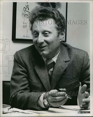 1971 Press Photo Daniel Wilson, independent producer - mjp03691