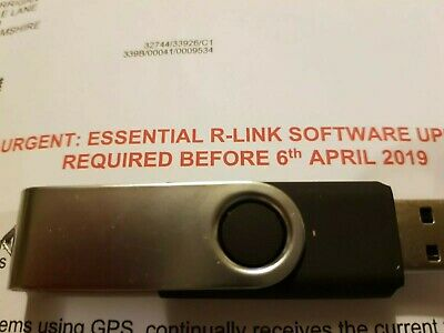 Renault R-Link Essential Software Update USB stick