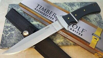 Timber Wolf Sub-Hilt Full Tang Fixed Blade Knife with Sheath
