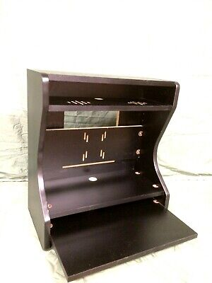 Bartop Arcade Deluxe Cabinet Kit -  Black, Easy Assembly, acrylic, T-mold, marqu