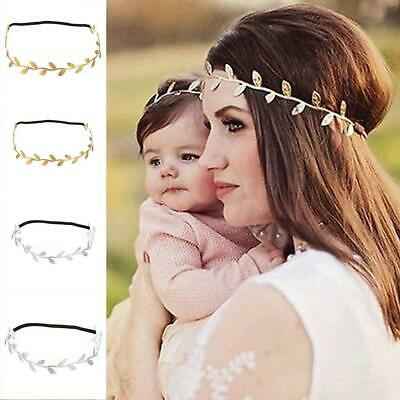 Women Baby Girls Leaf Headbands Headpiece Party Hair Bands Hair WST 01