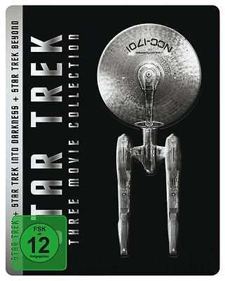 3er Steelbook Star Trek Nave Espacial Enterprise Into Darkness Beyond 6