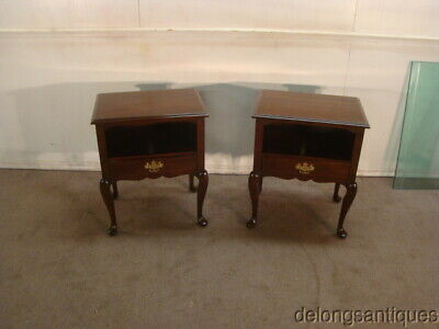 52638:Statton Old Towne Solid Cherry Pair of Night-Stands