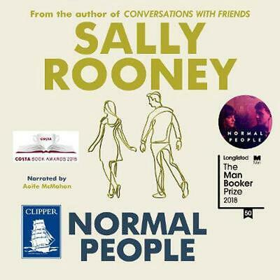 Normal People by Sally Rooney Compact Disc Book Free Shipping!