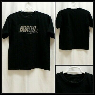 official photos e5db2 3fdd9 Hurley Black with Gray Beige Graphic Cotton T Shirt Sz (XL) XLarge  15779