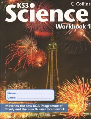 Collins KS3 Science - Workbook 1 Paperback Book The Cheap Fast Free Post