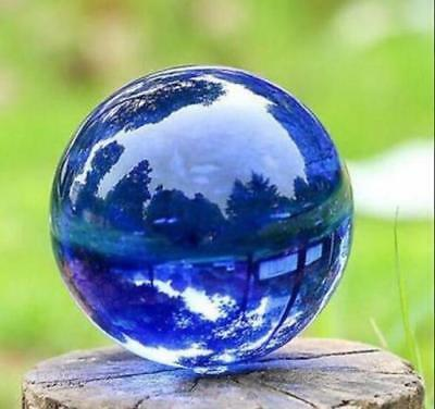 Asian Rare Natural Quartz Magic Crystal Healing Ball Sphere 40mm +Stand