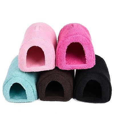 Pet Dog Cat Cave Winter Warm Cozy Kennel Puppy Igloo House Dog Bed Cushion Mats