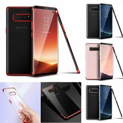 Slim Shockproof Luxury Plating Case Cover for Samsung Galaxy S10 Plus + Screen