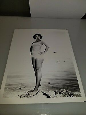 Vintage 8 X 10 Photograph From Irving Klaws Archives Of Anne Bancroft  Lot #4