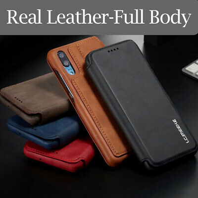 For Huawei P30 Pro Lite Luxury Leather Full Body Slim Shockproof Card Case Cover