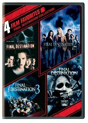 4 Film Favorites: Final Destination 1-4 Collection [DVD] [Region 1... -  CD NSVG
