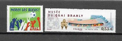 FRANCE - 2006 YT 3936 à 3937 - TIMBRES NEUFS** MNH LUXE