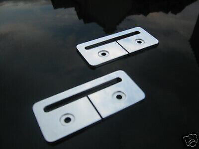 Mgtf / Mgf Alloy Seat Belt Holders Guides *Rare* !
