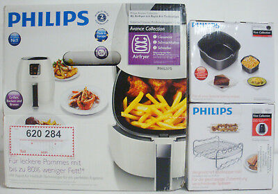 NEU PHILIPS Avance Collection Airfryer XL HD9240 Fritteuse inkl. Zubehör OVP TOP