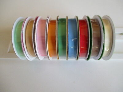 1 reel Dovecraft Satin Ribbon - choice of colour