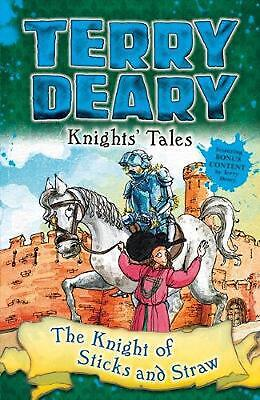 Knights' Tales: the Knight of Sticks and Straw by Terry Deary Paperback Book Fre