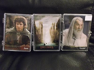Topps Lord Of The Rings Trading Card Base Sets X3. Fellowship,Two Towers, ROTK !