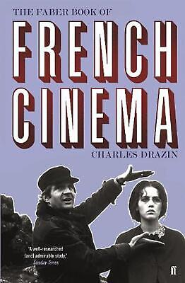 Faber Book of French Cinema by Charles Drazin Paperback Book Free Shipping!
