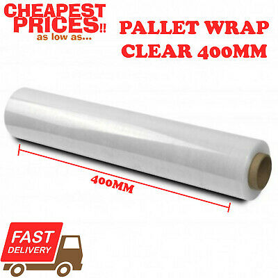 1 x STRONG ROLL CLEAR PALLET STRETCH SHRINK WRAP CAST PACKING PARCEL CLING FILM