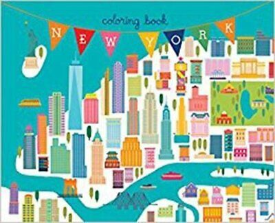 New York Coloring Book: Mini Edition (Colouring Books) by Min Heo Book The Cheap