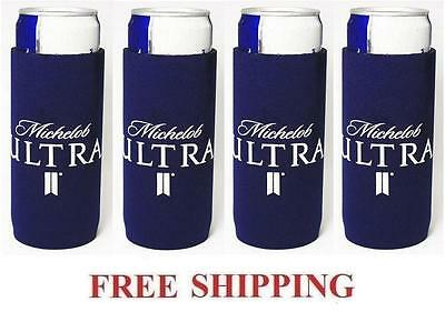 Michelob Ultra 4 Slim Can Cooler Coozie Coolie Koozie Huggie New Bud