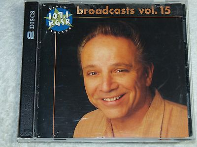 KGSR Broadcasts Vol. 15 (2 cd set)  Jimmie Vaughan, Guy Clark, Patty Griffin....