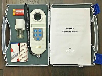 MicroGP Spirometer Deep Breath Lung Respiratory Medicine use with manual GP use