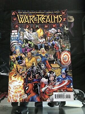 War Of The Realms #1 (2019) Amanda Conner Party Variant Marvel Comics Thor