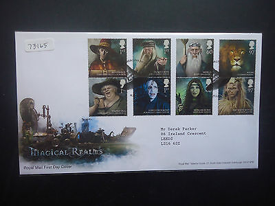 Great Britain First Day Cover 2011 Magical Realms (Merlins Bridge SHS)