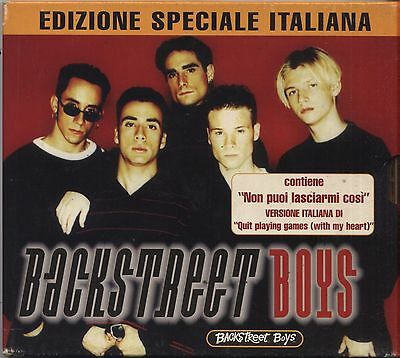 BACKSTREET BOYS - Omonimo - CD EDIZIONE SPECIALE ITALIANA 1996 NEAR MINT