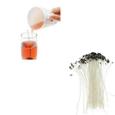 50Pcs Candle Wick Candle Making Pre Waxed Wick Natural Cotton Core15cm