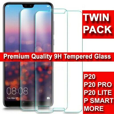 For Huawei P20 Pro Lite Mate Premium Protection Tempered Glass Screen Protector