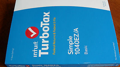 Federal E-file Federal only New in sealed box. Turbotax 2014 Basic