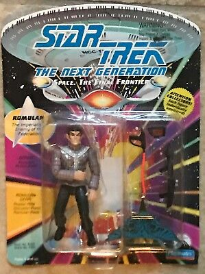 Star Trek The Next Generation Romulan Action Figure UNPUNCHED MOC Playmates 1992